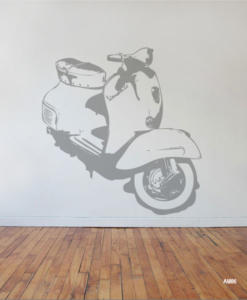 Interieursticker Vespa