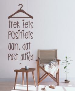 Interieursticker Tekst Motivatie