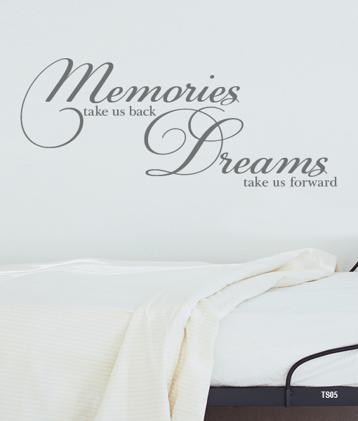Memories take us back… – interieurstickers.be