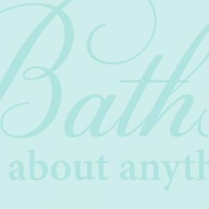 Tekst badkamer