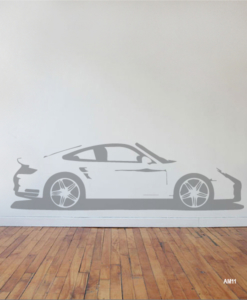 Interieursticker Porsche 911