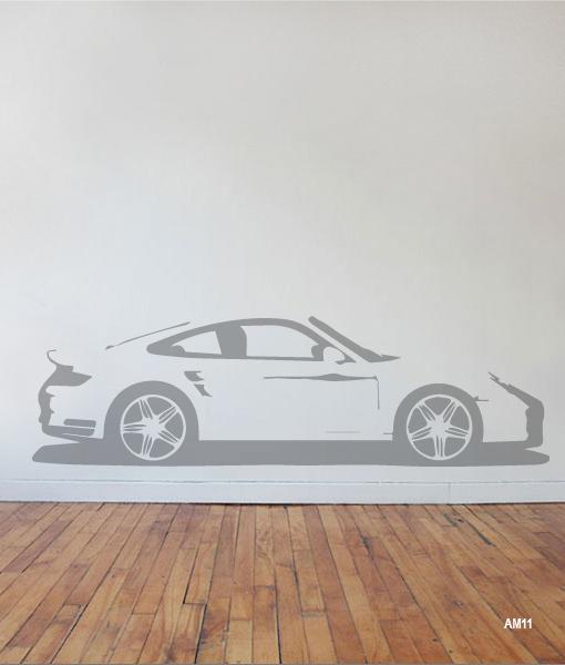 Interieursticker Porsche 911